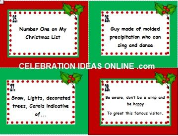 super fun christmas party game name that holiday tune 28 clues to