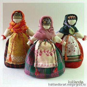 Берегиня - народная кукла. МегаГрад - мега-портал авторской ручной работы