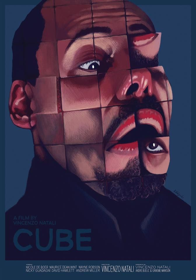 Cube 1997 Horror Movie Posters Pinterest Cube Horror And Movie Posters Movie Art Movie Prints