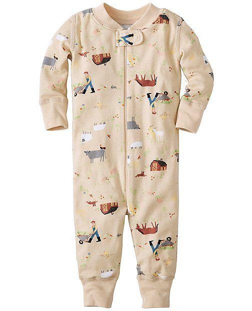 Night Night Baby Sleepers In Pure Organic Cotton from #HannaAndersson.