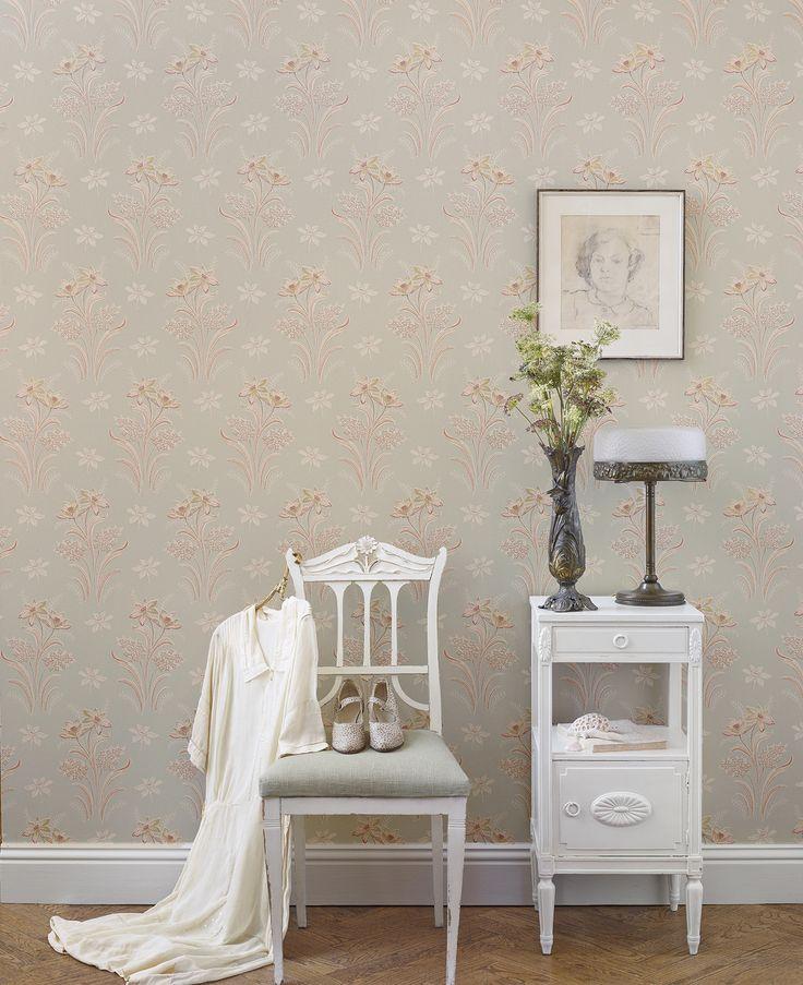 Swedish Interiordesign: Sandberg Wallpaper S New Collection Tradition Is A