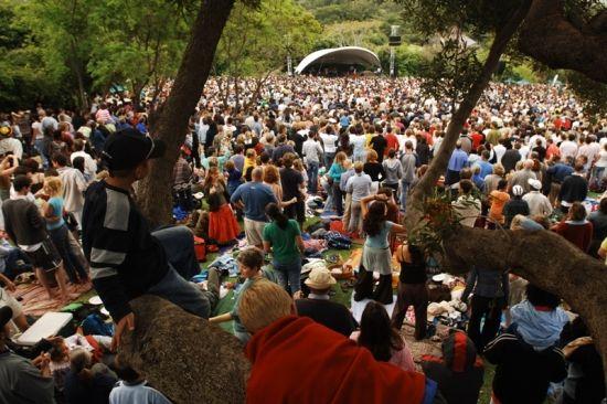 Kirstenbosch Summer Concerts 2012/13
