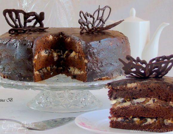 Очень легкий в приготовлении, но при этом безумно вкусный торт... Для настоящих…