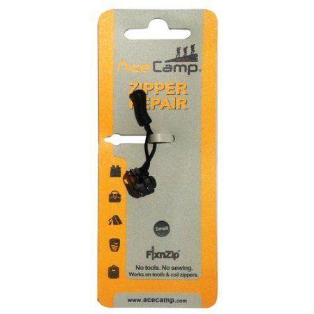Ace Camp Zipper Repair Kit Black Nickel, S