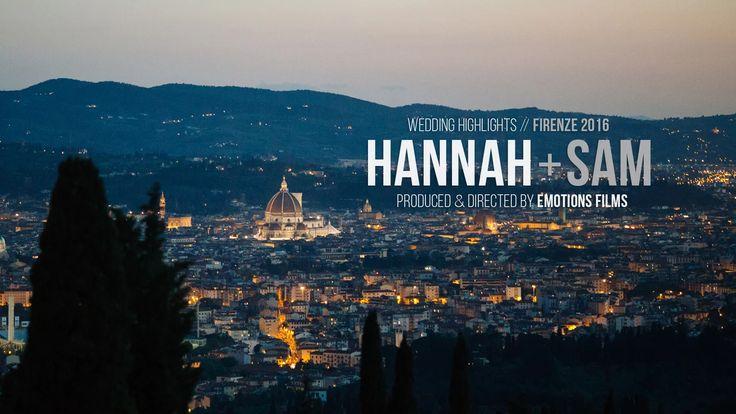 Hannah & Samuel // Wedding Highlights  Fienze // Toscana. Italy  Planning…
