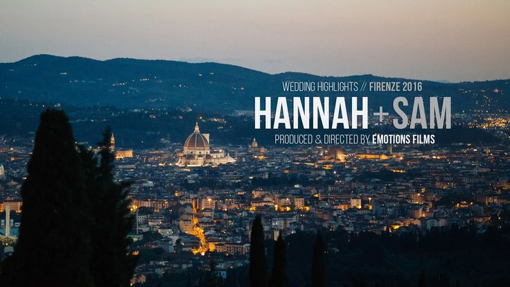 Hannah & Samuel // Wedding Highlights  Fienze // Toscana. Italy  Planning…