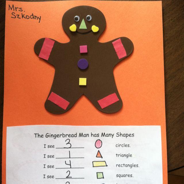388 best gingerbread images on pinterest gingerbread man for Gingerbread crafts for kindergarten