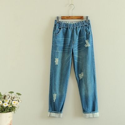 Holes Casual Girl Jeans  $24.90  10% off discount code sweetbox for new arrivals