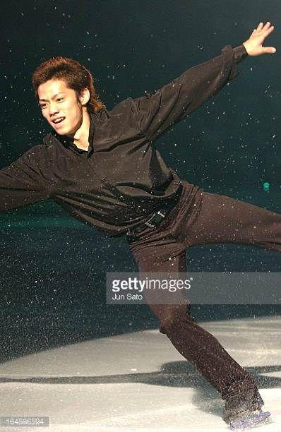 'Daisuke Takahashi during a Team Japan Exibition at Shin Yokohama Prince Hotel Skate Center in Yokohama Japan on June 27 2004 '
