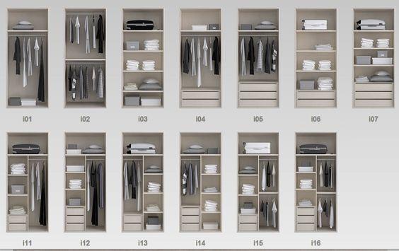 Diseñamos el interior de tus armarios y vestidores, a medida y adaptados a tus necesidades. Dinos que necesitas!!!: