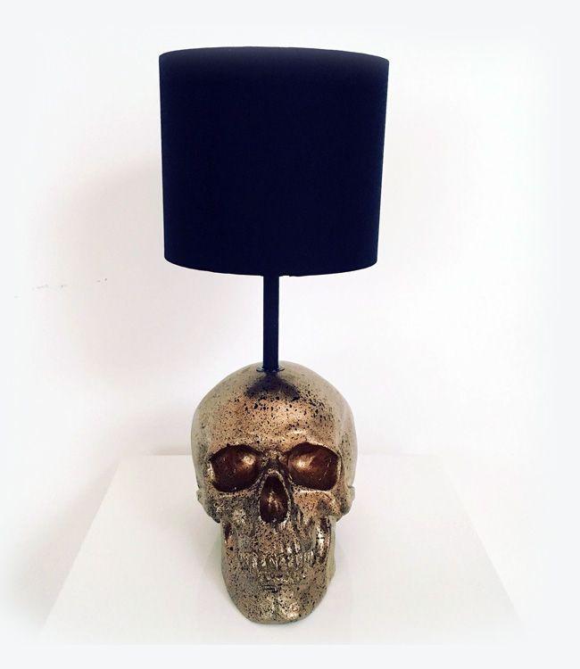Table Lamp Bone Lamp Skull Decor