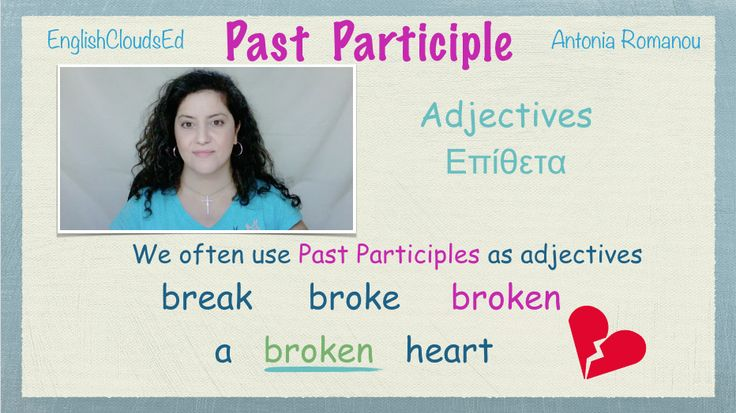 Learn how to form the Past Participle and where we use it.