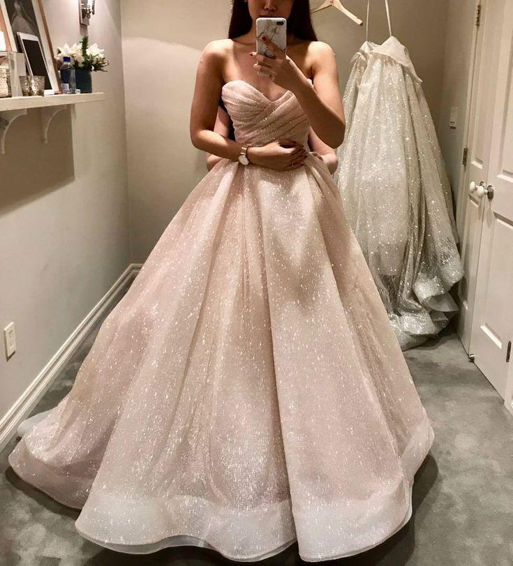 Lazaro Pink Wedding Dress Best Of Lazaro New 3810 Size 8 Wedding Dresses Blush Glitter Wedding Dress Lazaro Blush Wedding Dress