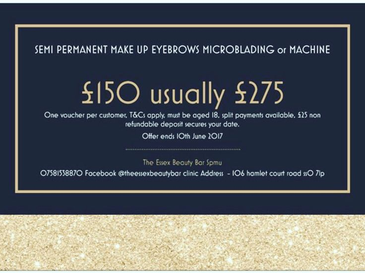 welcome to The Essex Beauty Bar Website we offer the latest techniques in semi permanent make up including Eyebrows, Lips and Eyeliner please contact us with all enquiries  -  welcome to my page, I am newly qualified in semi permanent make up, I am fully insured and licensed. I trained with a re...