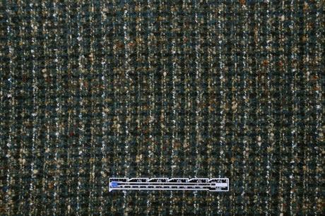 301006 Deep Blue-Green  Italian Wool-Blend Boucle from Mood