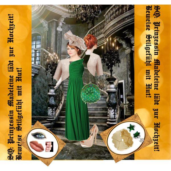 SQ:Prinzessin Madeleine lädt zur Hochzeit! Beweise Stilgefühl mit Hut! Lies mehr über Shopping Queen Motto in Freiburg: Prinzessin Madeleine lädt zur Hochzeit! Beweise Stilgefühl mit Hut! by jeudedupes on Polyvore