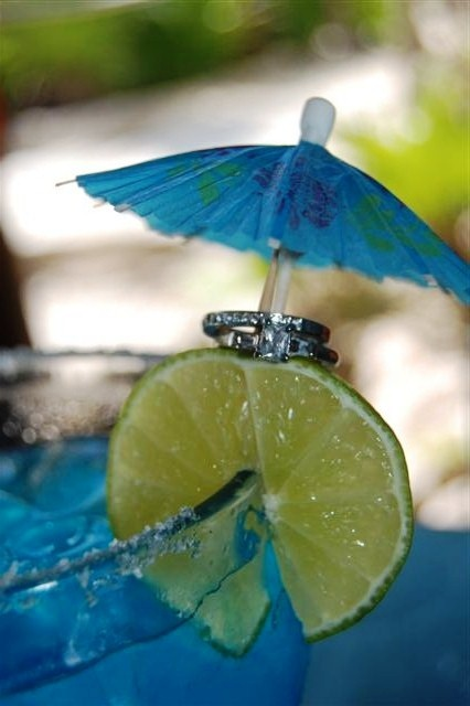 creative honeymoon pictures....in a tropical location of course!