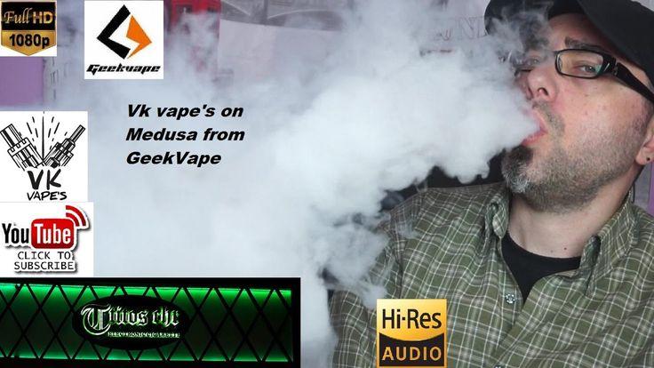 Vkvapes on Medusa from Geekvape, full review (Greek)