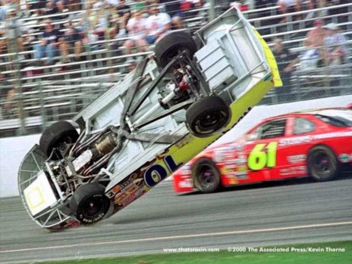 Best Racing Crashes Images On Pinterest Race Cars Nascar