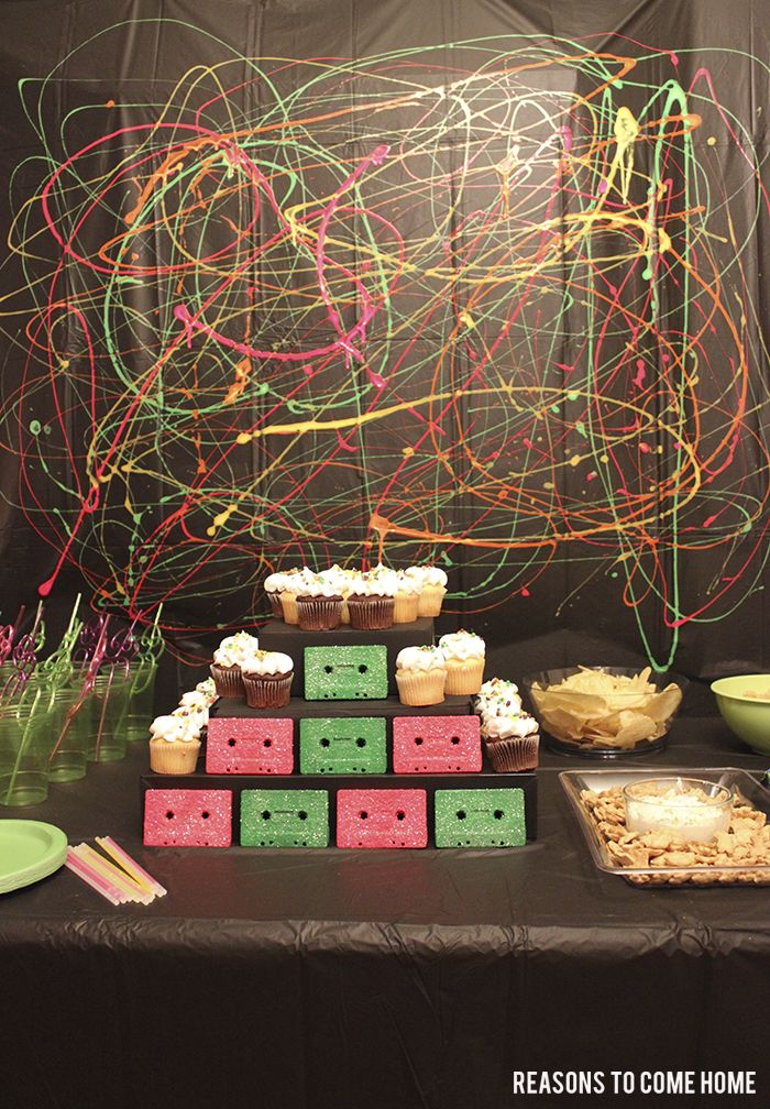 Top 25 best 1980s party decorations ideas on pinterest for 90s decoration ideas