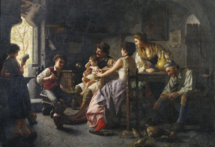 Giovanni Battista Torriglia THE STORYTELLER