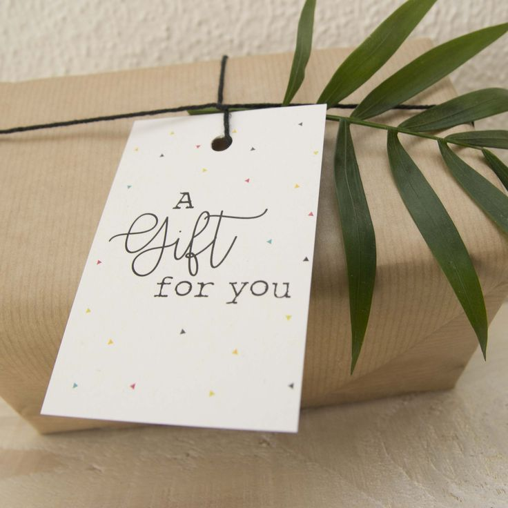 Label A gift for you