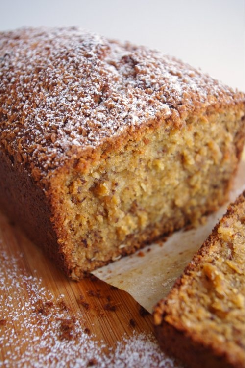 Banana Coconut Bread - seriously yum. Seriously.