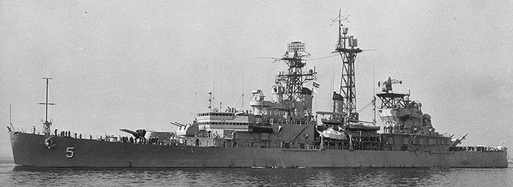 USS Oklahoma City History