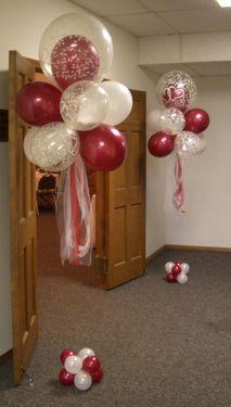 Anniversary Party Balloon Decor ~ Tulsa, OK