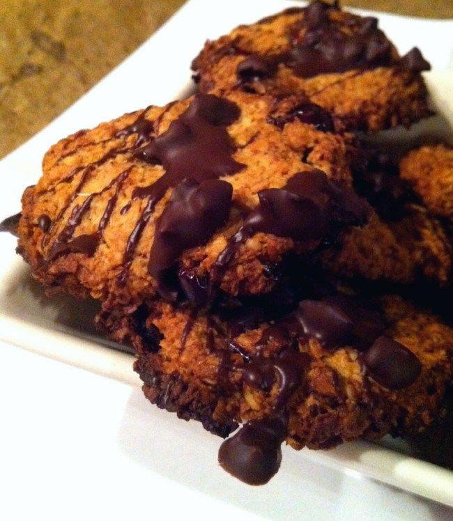 Havermout koekjes met cranberry & cacao nibs