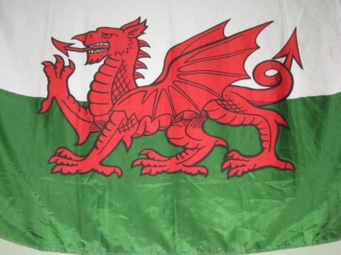 I am Welsh, Welsh Flag. Beautiful Castles and Deep History
