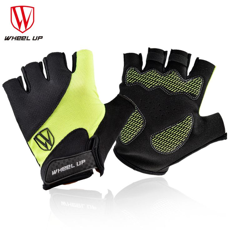 WHEEL UP Cycling Gloves Half Finger Mens Women's Summer Bicycle Gloves Guantes Ciclismo MTB Mountain Sports Bike Gloves #Affiliate