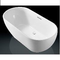 Alesso Bianca vrijstaand bad acryl 178x78x60cm met overloop wit QA1000 vrijstaande blanca wisa detremmerie carla 11878