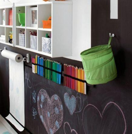 Kid craft wall