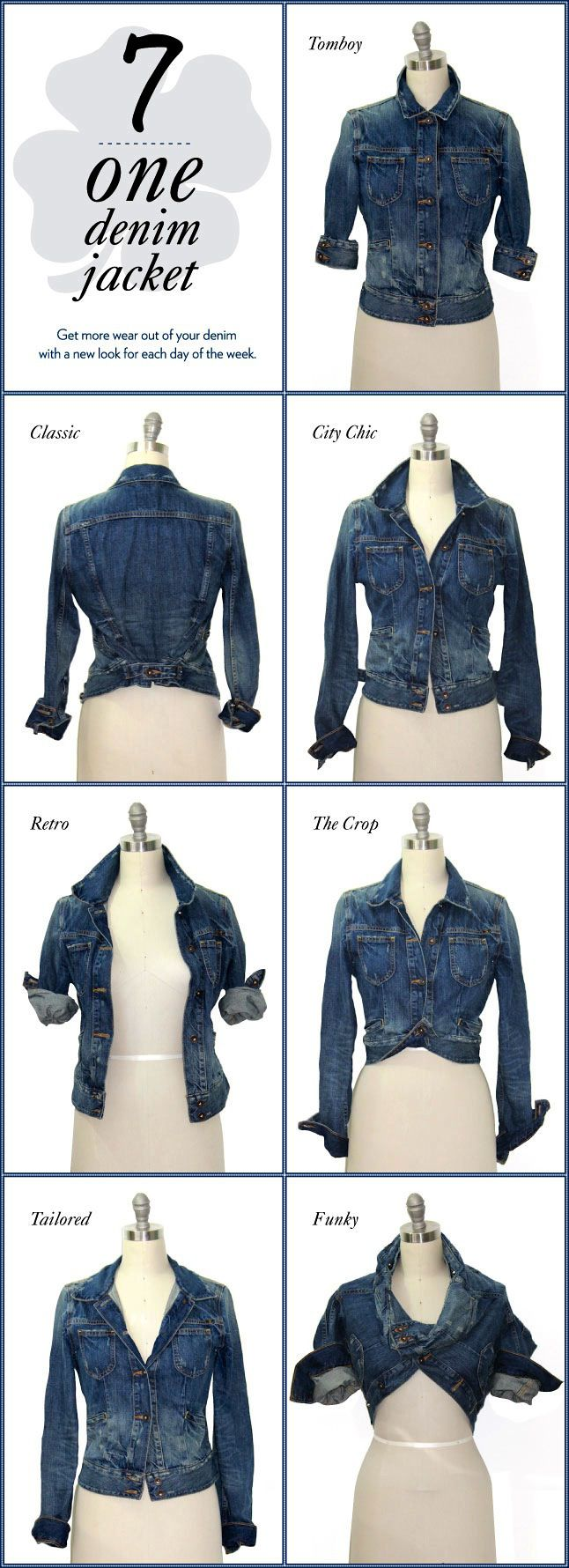 How-To: Denim Jacket Style – A Lucky Life: The official blog of Lucky Brand