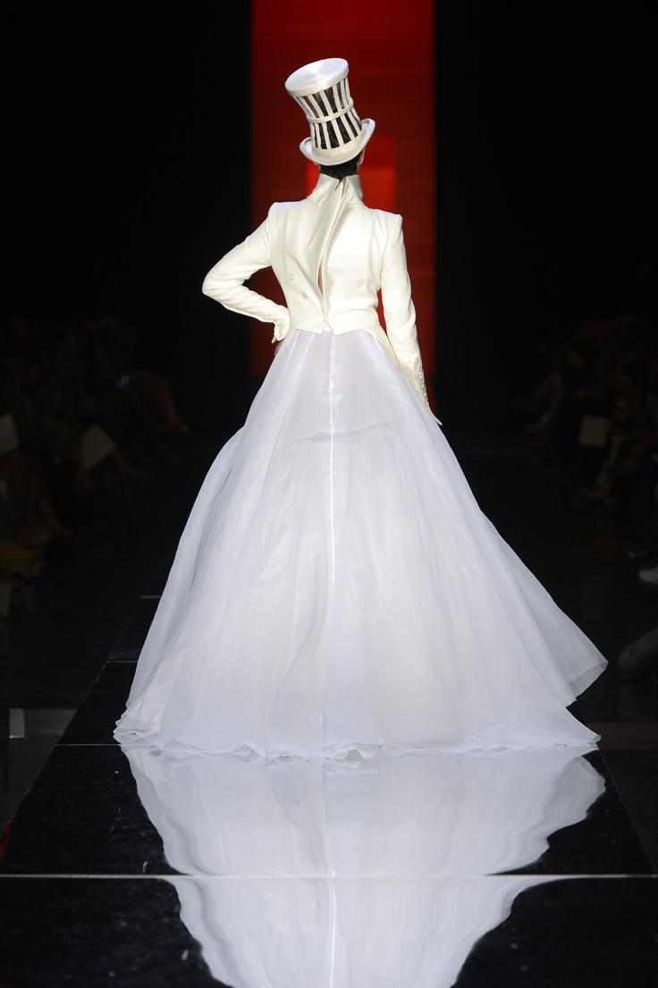 Collection Haute Couture automne-hiver 2012-13  La Mariée.  www.jeanpaulgaultier.com #JPGaultier #PFW #couture