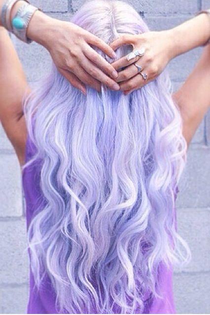 Neon Faded Purple White Hair Neon Hair Pinterest