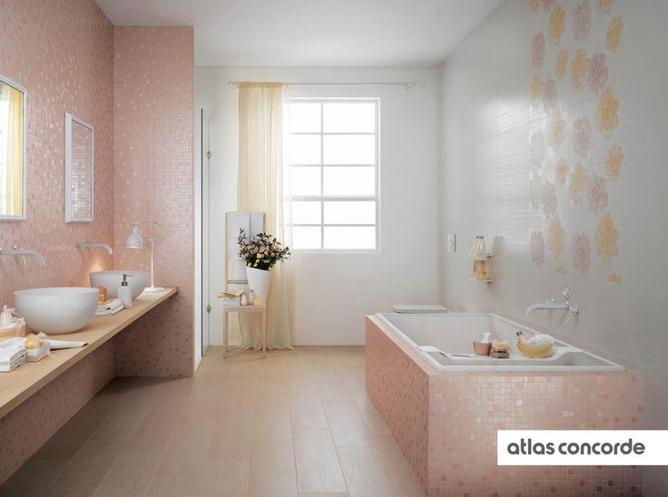#RADIANCE | #Rose | #White | #AtlasConcorde | #Tiles | #Ceramic