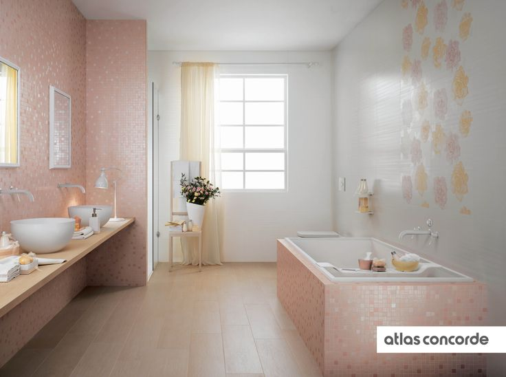 #RADIANCE | #Rose | #White | #AtlasConcorde | #Tiles | #Ceramic