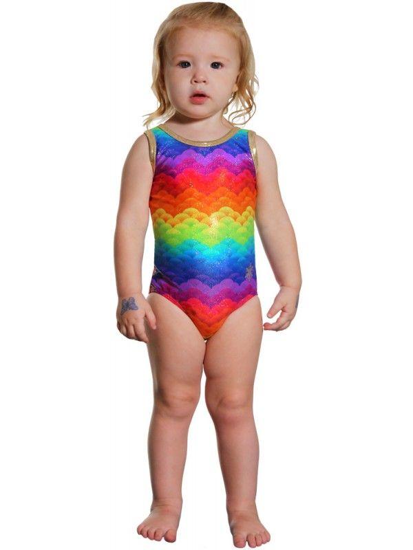 New Arrivals!  Toddler Mermaid Tank Gymnastics Leotard by Snowflake Designs