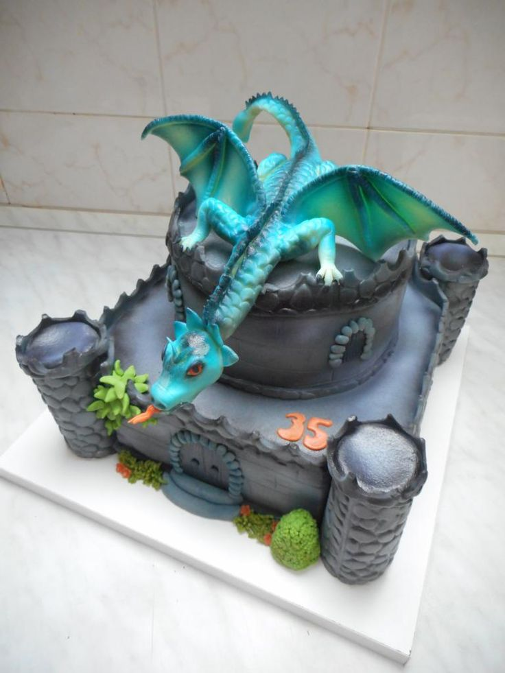 Dragon cake                                                                                                                                                                                 More