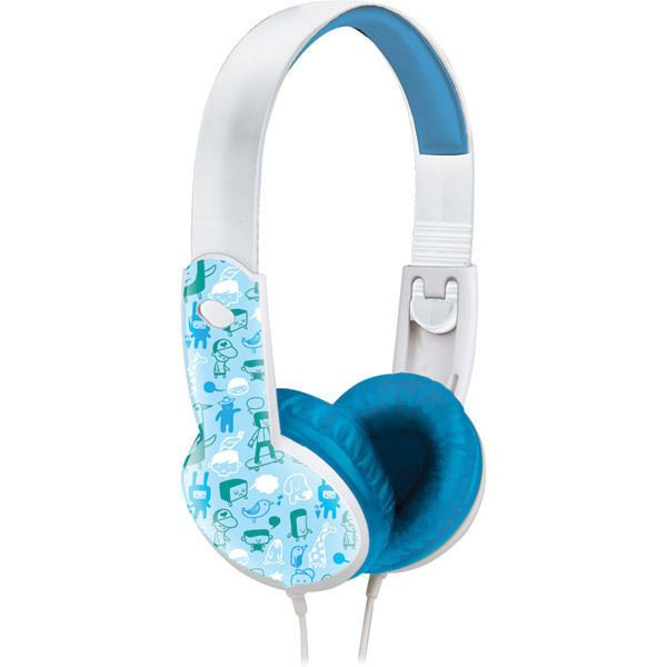 Maxell Blue Boy 3-5Yr Safe & Sound Stereo Headphones 20-20K  #Maxell #ChildrensSizeHeadphonesAges35