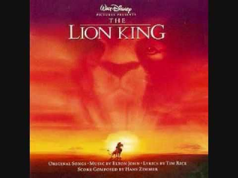 The Lion King - Circle Of Life --- Walt Disney's 1994, 32nd animated feature The Lion King. It contains songs from the film written by Elton John and Tim Rice, and a score composed by Hans Zimmer.