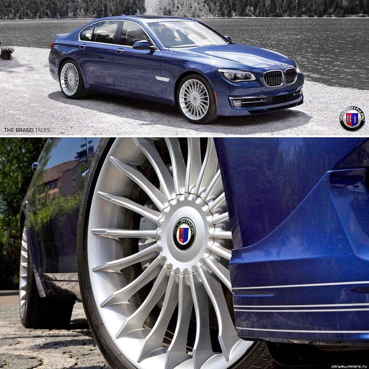 Alpina - Brand of performance cars based on BMW. Works closely with BMW and Alpina cars are produced on the same assembly line along with BMW. #car #speed #auto #germany #performance