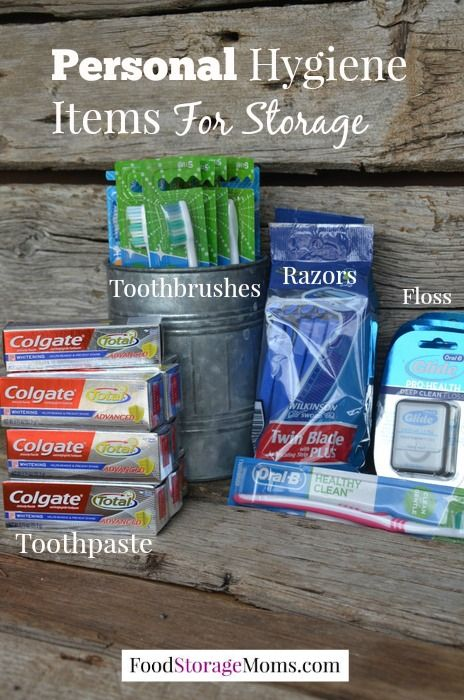 Personal Hygiene After A Disaster by Food Storage Moms