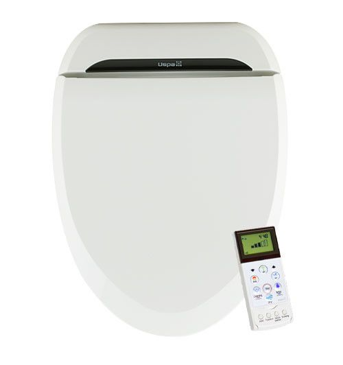 USPA White Round Bidet Toilet Seat - The USPA Bidet Toilet Seat has finally reached American shores! USPA, one of the most reputable and recognizable names in the global bidet seat industry, is now entering the US market with its flagship model, the USPA Bidet Seat. The USPA is a top-of-the-line electronic bidet seat both in terms of quality construction and aesthetics. From its attractive, piano black styling stripe to its classic beveled edges, the USPA toilet seat bidet is sure to…