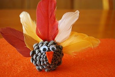 "Search for ""pinecone turkey"" - A Pumpkin And A Princess"
