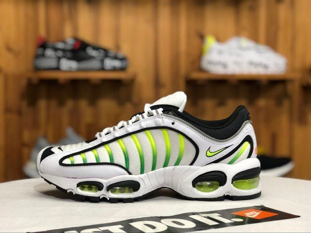 568e0839fc Rare Nike TN AIR MAX PLUS QS White Volt Black White AQ2567 700 Men's Shoes  Sneakers