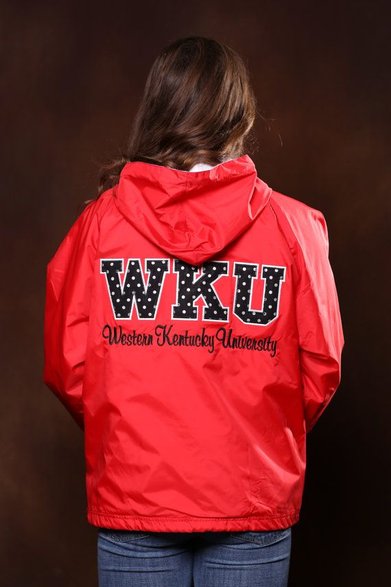Western Kentucky University Stitched Letter by DesignsbyBurnaleeja