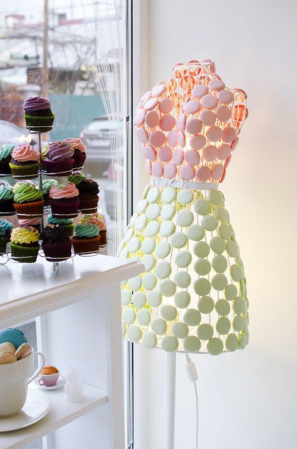 Little Macaron Dress in a French Bakery | La Beℓℓe ℳystère